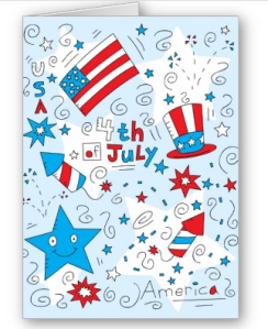 4th of July Card from Zazzle.com_1245997968757