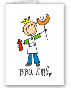 BBQ King Card from Zazzle.com_1246082600471