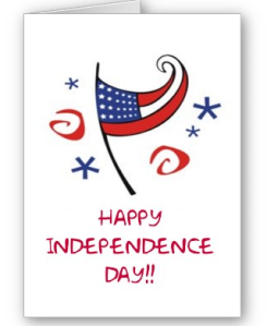 Happy Independence Day Card from Zazzle.com_1246255419838