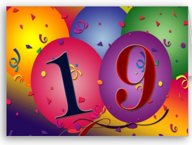 happy 19th birthday card from zazzle com_1246949064865?w=300&h=226 taking it one page at a time my 19th birthday broke 10,000