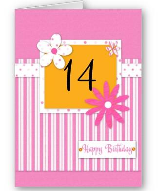 100 Days Of Birthdays 14th Birthday Send Sunshine To Someone Special