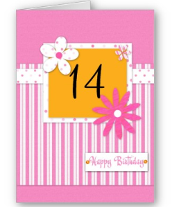 14 year old girl send sunshine to someone special pink template card from zazzle1246512766754 bookmarktalkfo Image collections