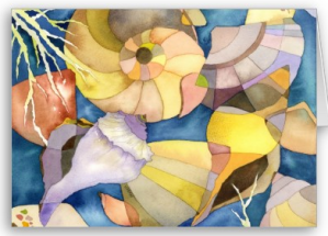 Sea Shells- Blank Card from Zazzle.com_1247210192068