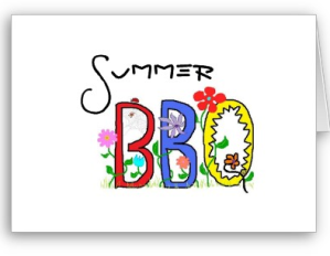 summer bbq invitation send sunshine to someone special
