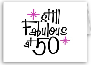 50th Birthday Card From Zazzle 1249974365605