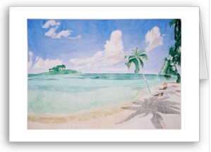 peaceful waters card from Zazzle.com_1249453825477